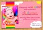 1St Birthday Invite Templates