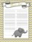 Baby Shower Sign In Sheet Template