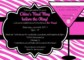 Bachelor Party Invitation Templates