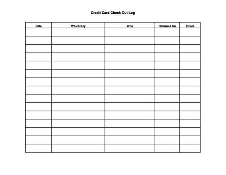 Book Sign Out Sheet Template  Sampletemplatess  Sampletemplatess