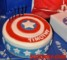 Captain America Shield Cake Template