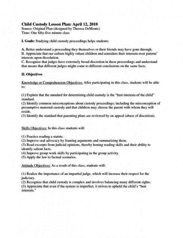 Child Visitation Agreement Form Antaexpocoaching