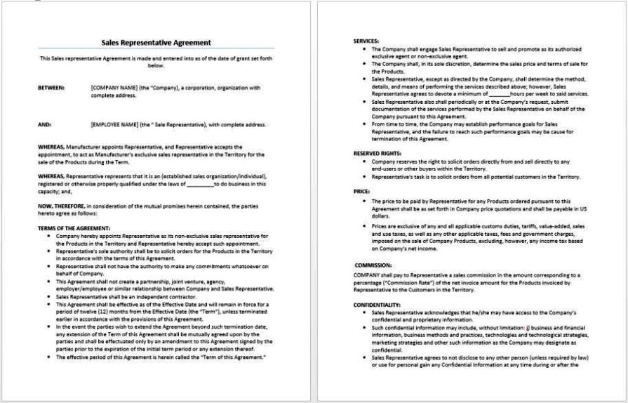 Custom Software Development Agreement Template  Sampletemplatess