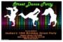 Dance Party Invitation Template