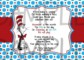 Dr Seuss Invitation Template