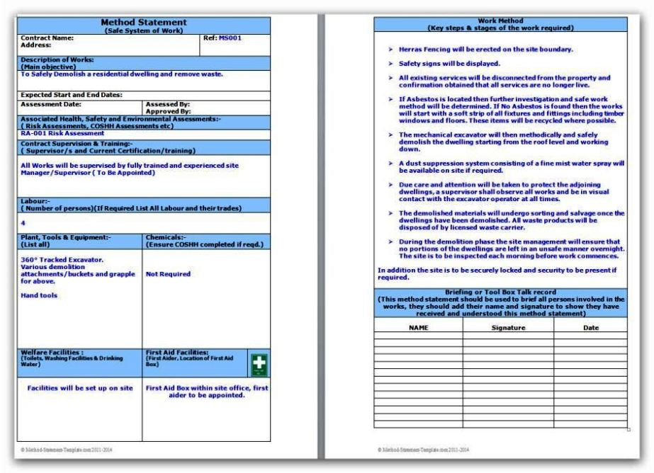 electricians risk assessment template - electrical installation risk assessment template