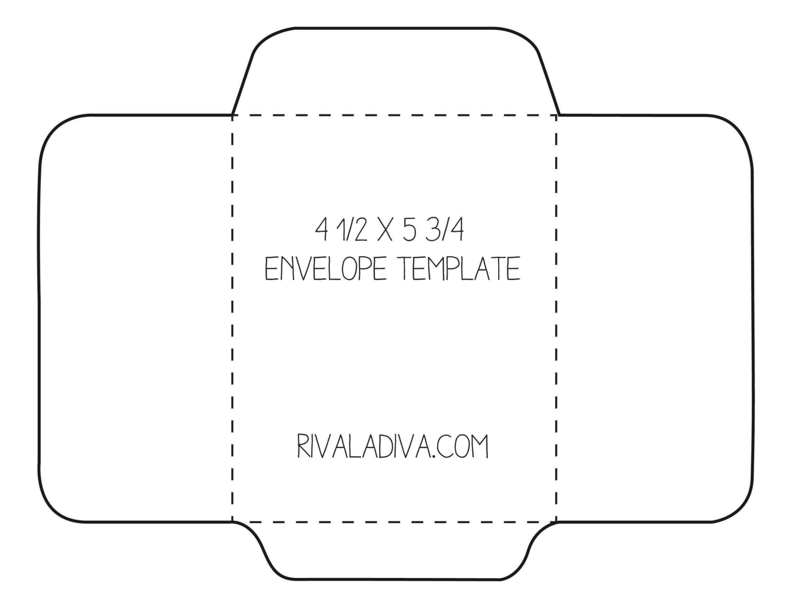 Envelope Maker Template