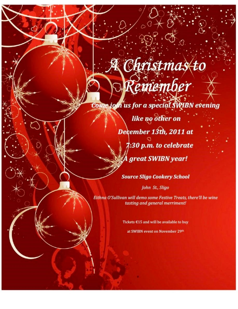 Free Holiday Party Invitation Templates Word - SampleTemplatess ...