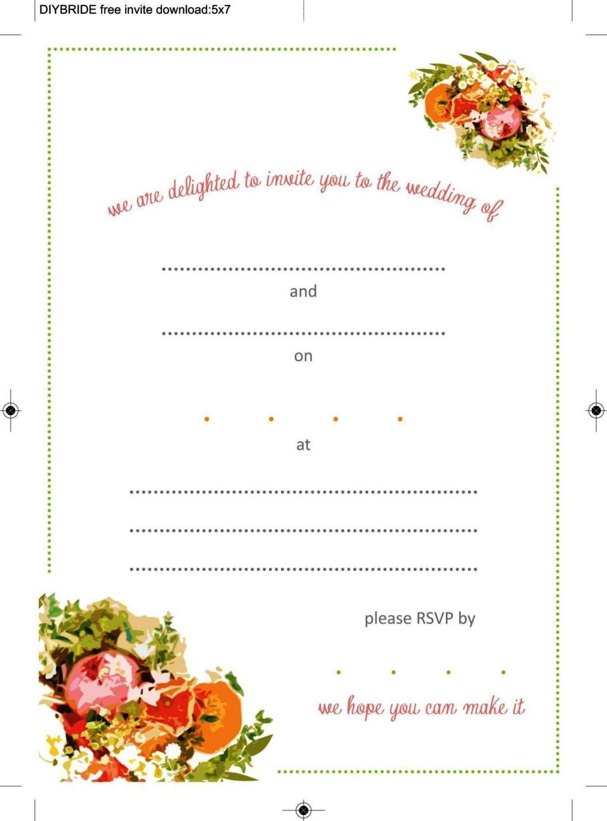Free invitation templates for word 2010 sampletemplatess sampletemplatess for Words 2010 free