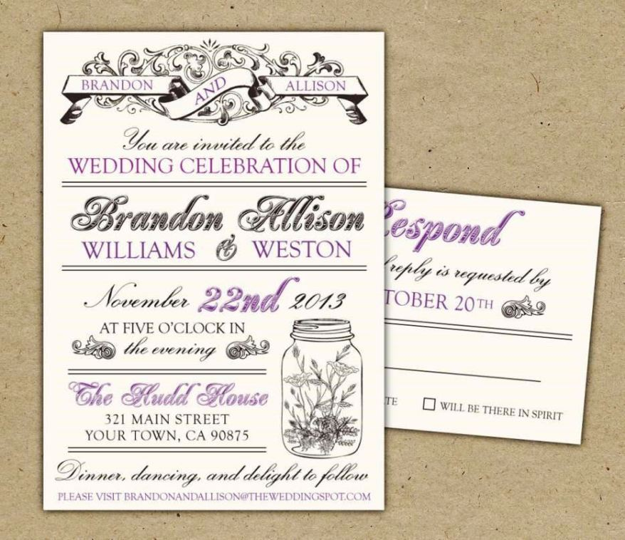 Free Postcard Invitation Templates Printable  Sampletemplatess