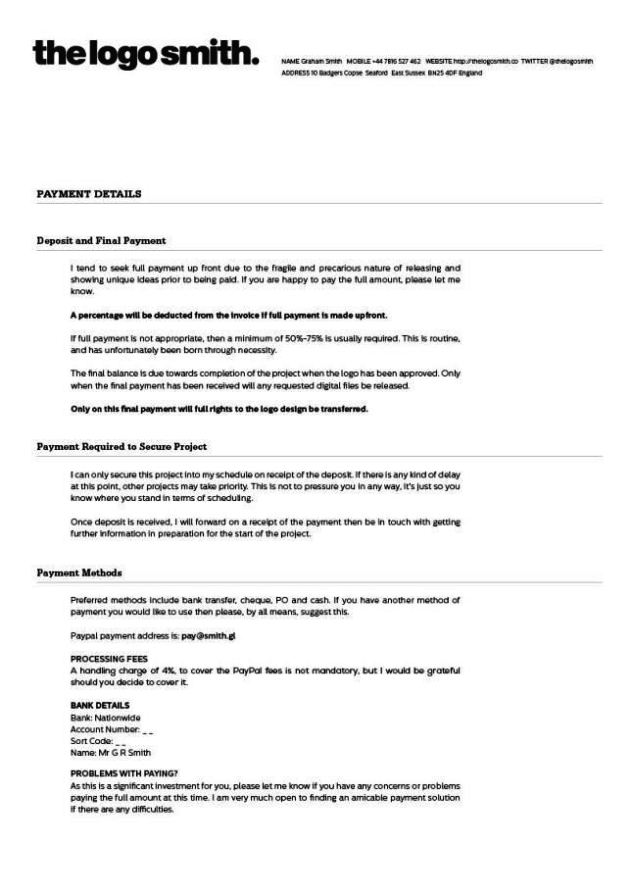 freelance graphic design contract template koni polycode co