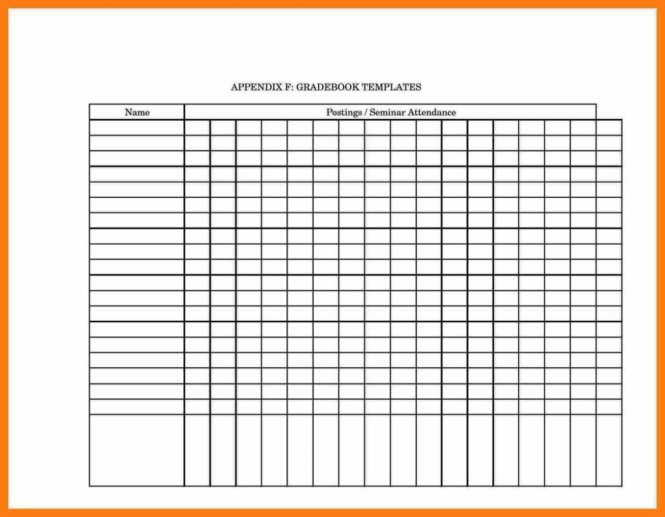 grade book template pdf sampletemplatess sampletemplatess. Black Bedroom Furniture Sets. Home Design Ideas