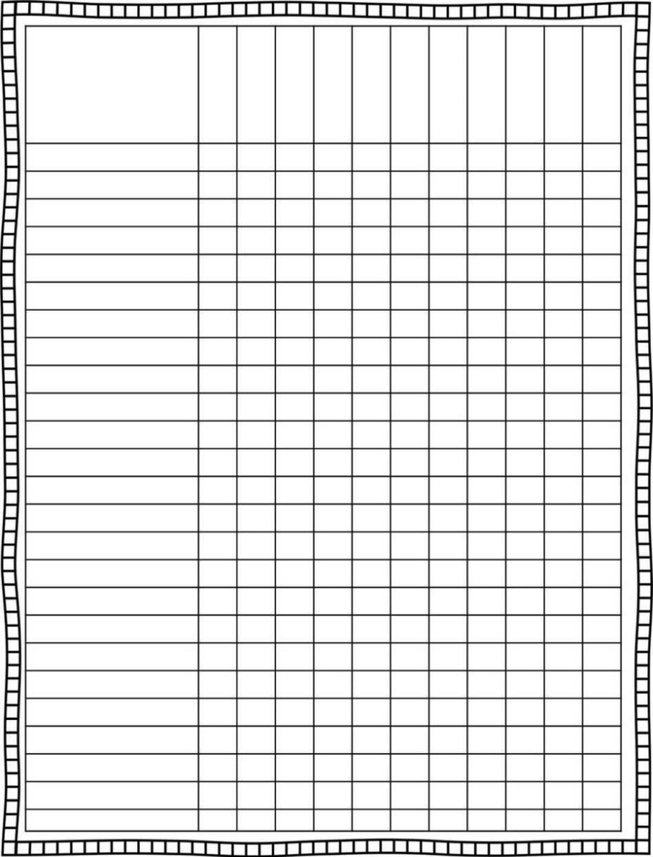 Grade Book Template Word Mesmerizing Grade Book Template Printable  Sampletemplatess  Sampletemplatess