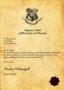 Harry Potter Acceptance Letter Template