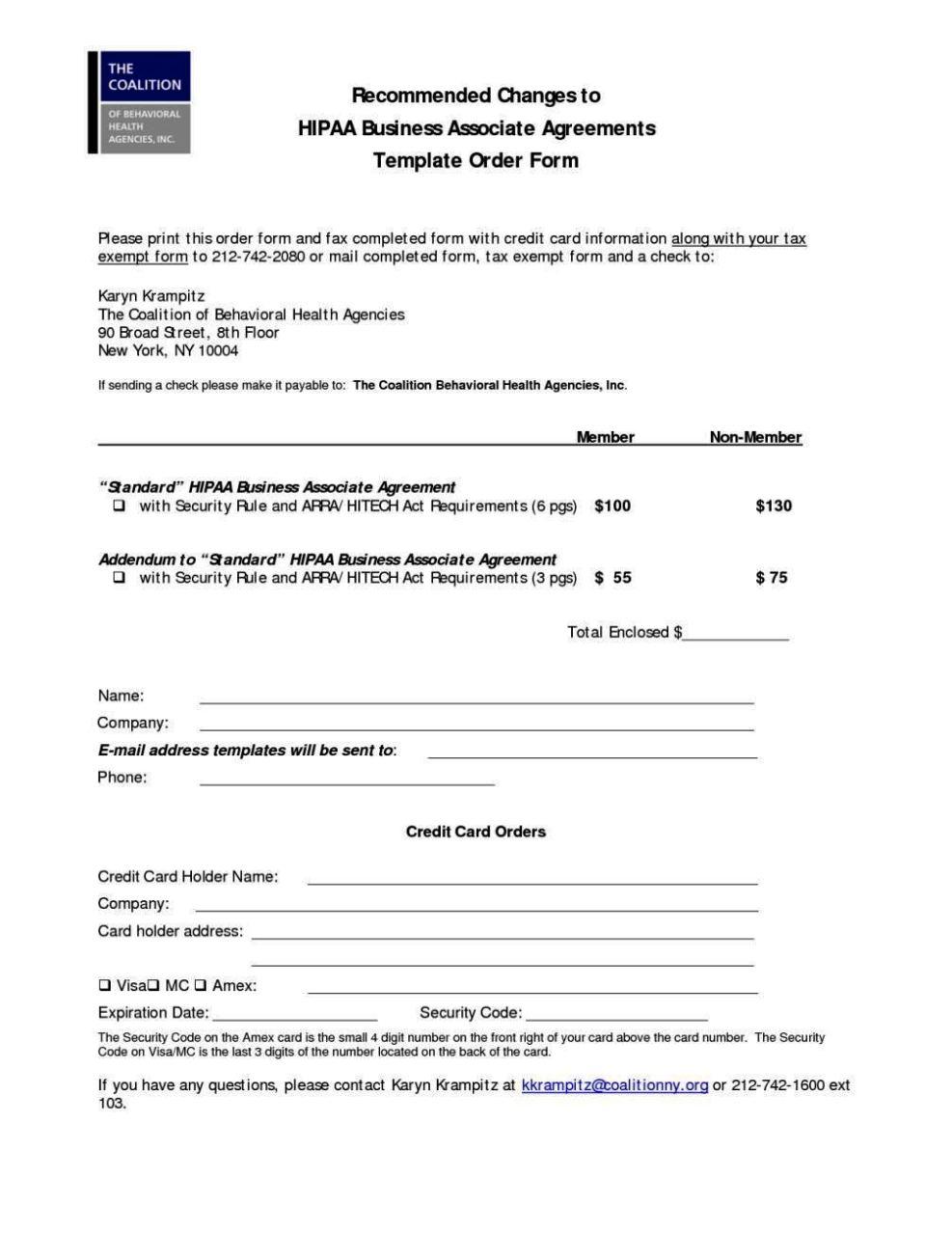 hipaa business associate agreement template. Black Bedroom Furniture Sets. Home Design Ideas