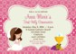 Holy Communion Invitations Templates Free
