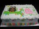 Hoot The Owl Birthday Cake Template