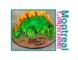 How To Make A Dinosaur Cake Template