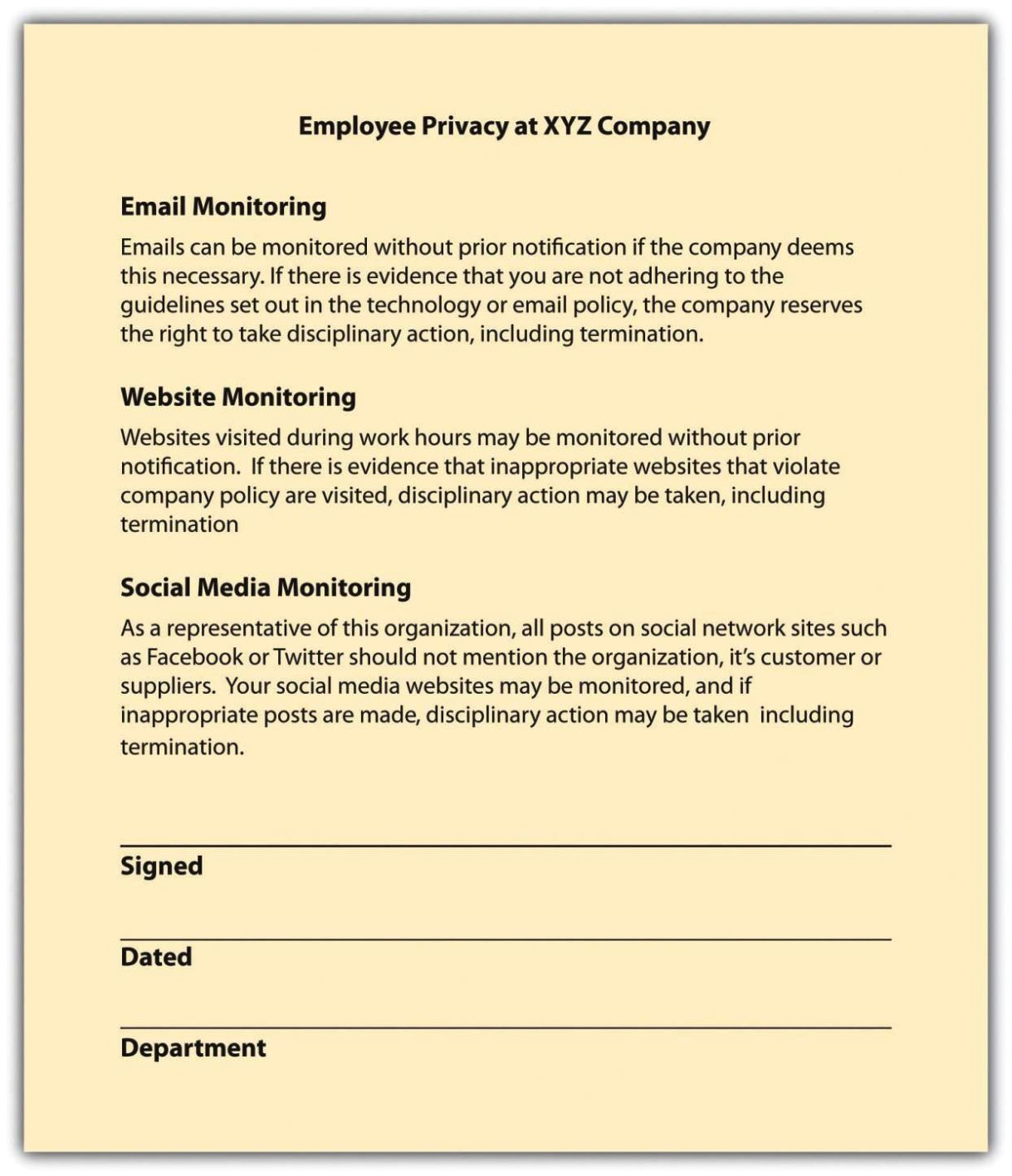 Human Resources Confidentiality Agreement Template