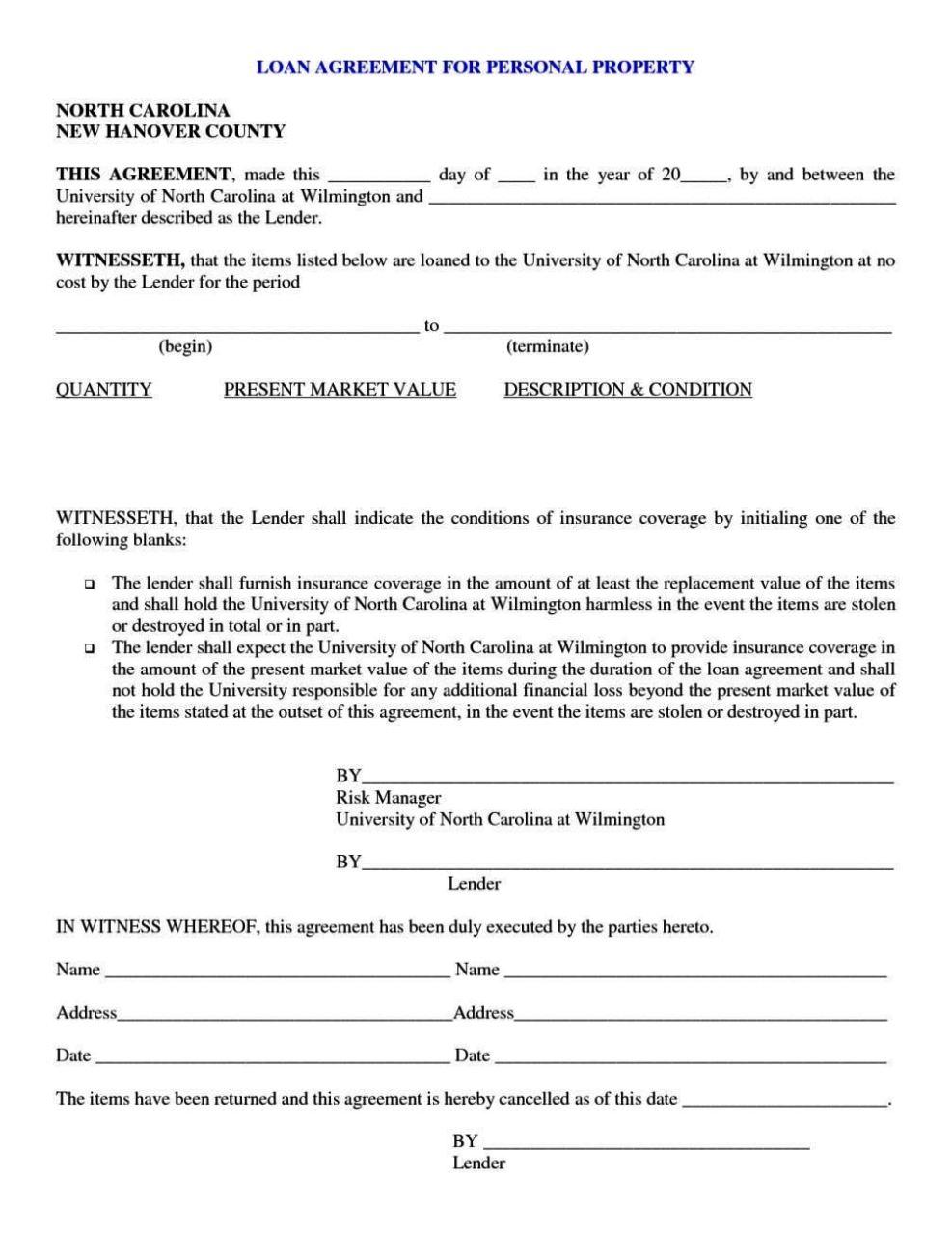 loan repayment contract template sampletemplatess
