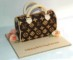 Louis Vuitton Handbag Cake Template