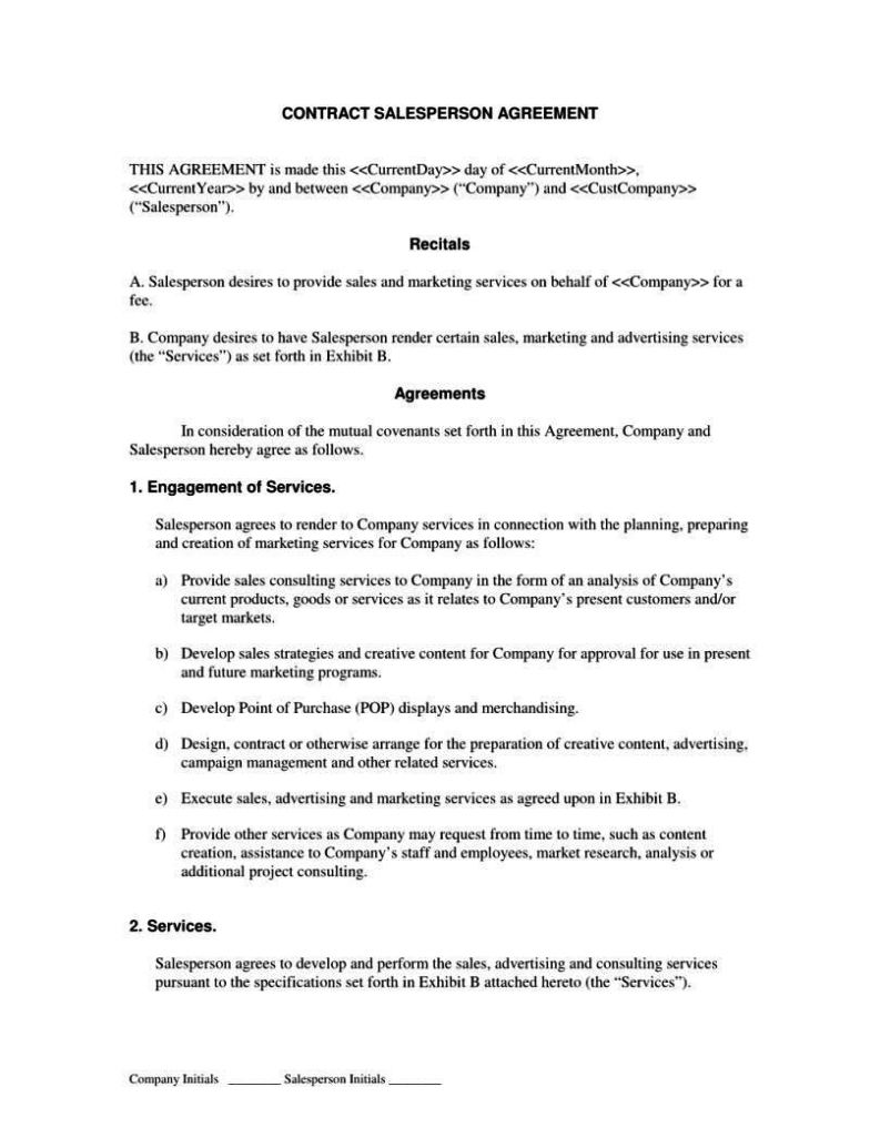 Marketing consultant contract template sampletemplatess for Marketing consultant contract template