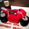 Motorbike Birthday Cake Template