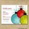 Office Holiday Party Invitation Template