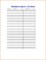 Parent Teacher Conference Sign In Sheet Template