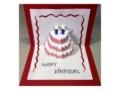 Pop Up Birthday Cake Card Template