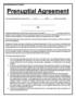 Premarital Agreement Template