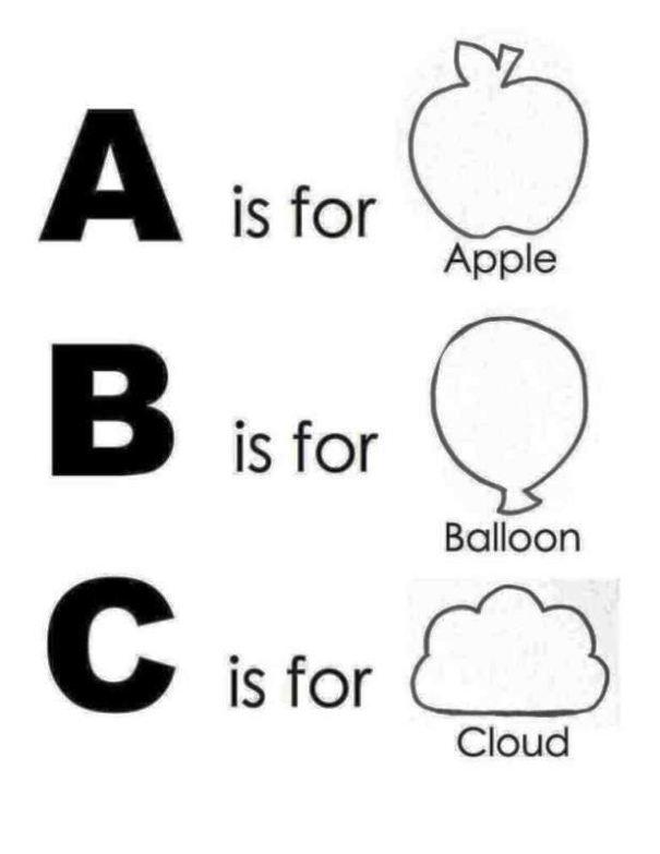 Printable Alphabet Book Template - SampleTemplatess - SampleTemplatess