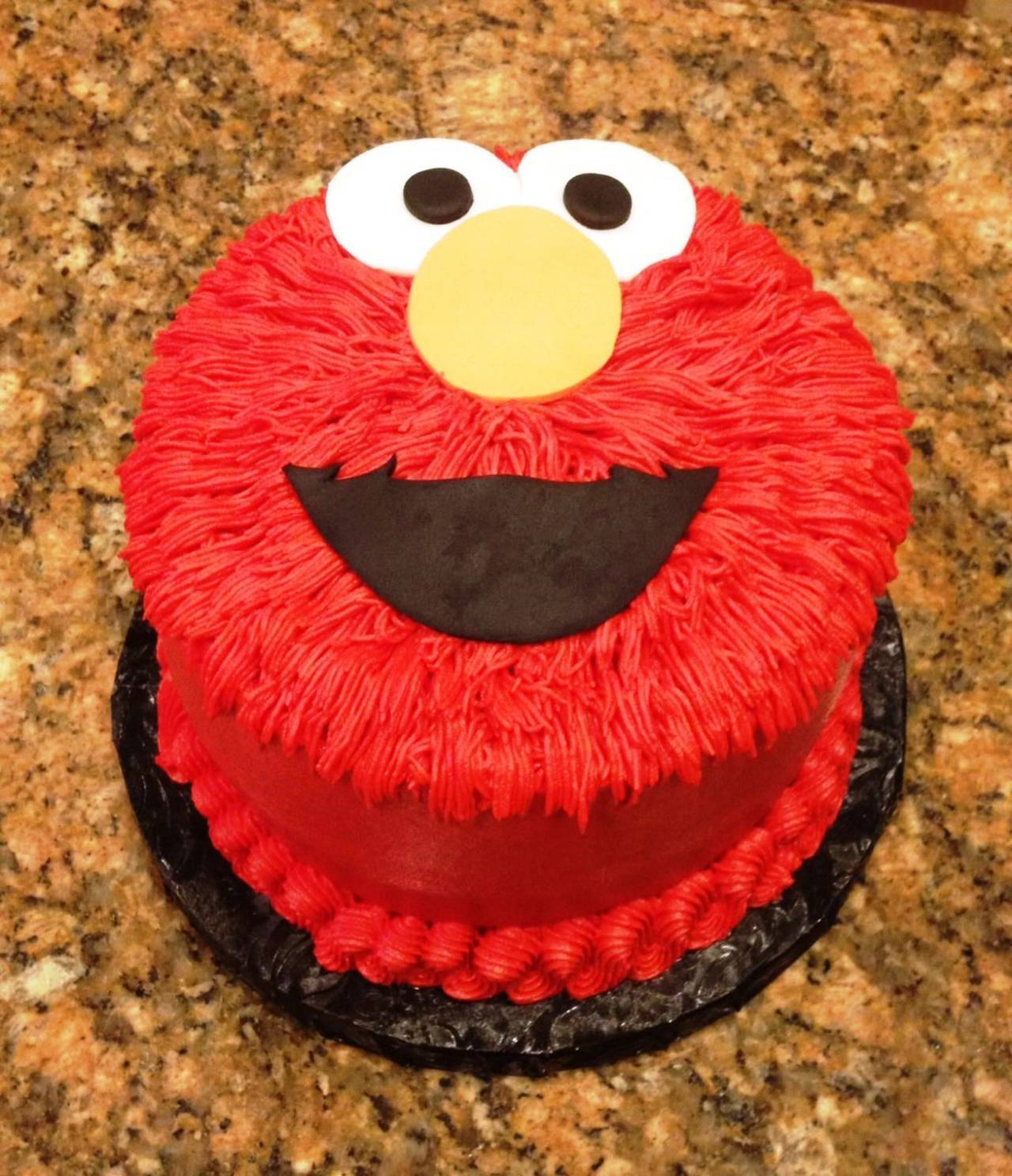 Printable elmo cake template sampletemplatess for Elmo template for cake