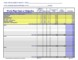 Project Budget Worksheet Template