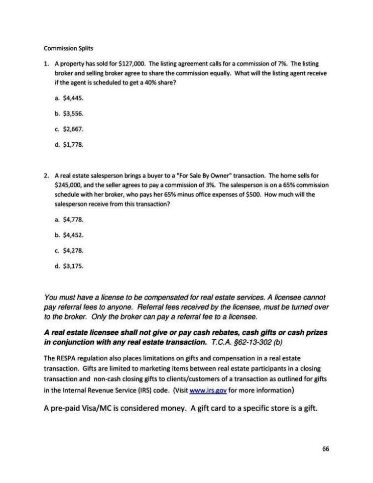 Real Estate Mission Agreement Template
