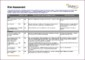 Risk Assessment Sheet Template