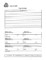 Sample Submission Form Template