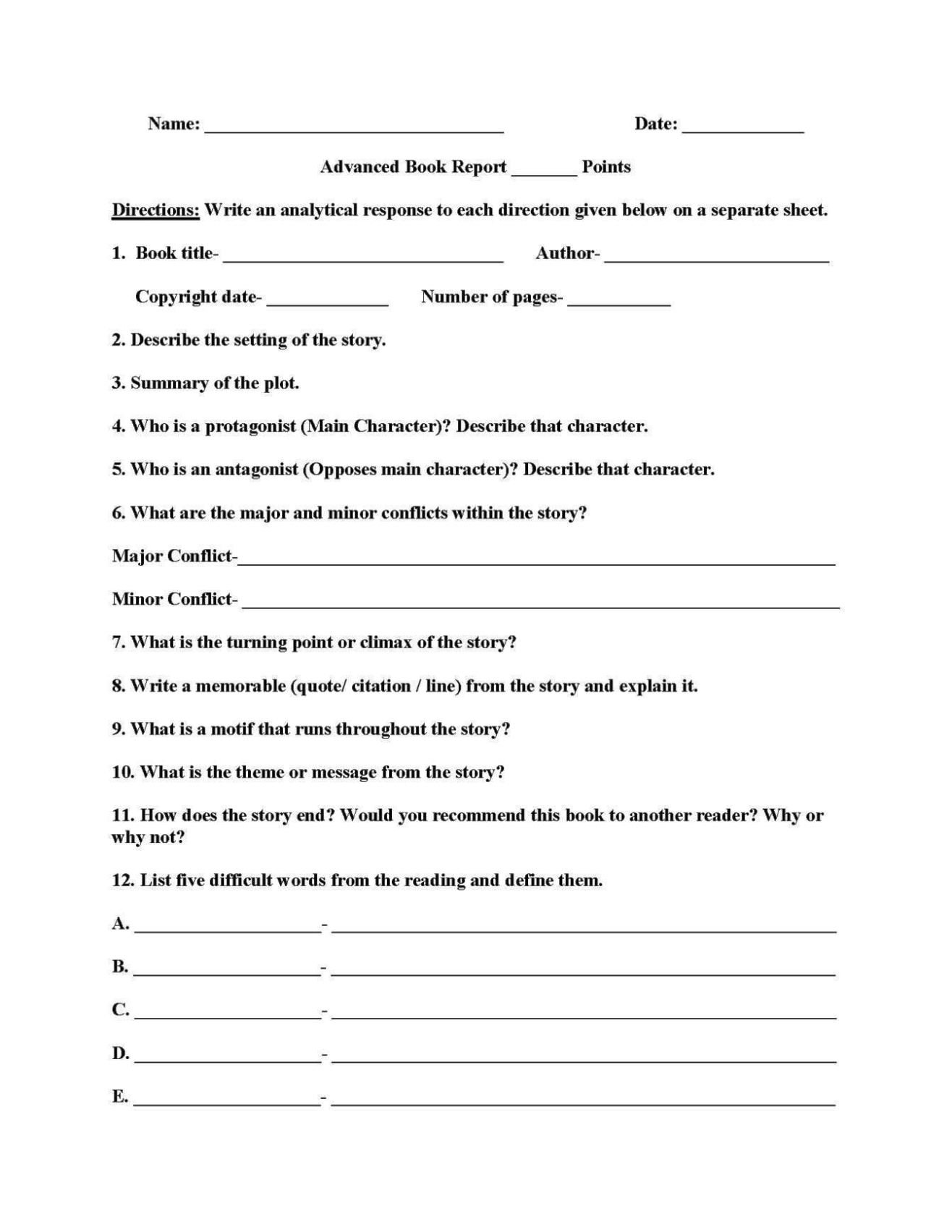 """second grade book report Dear second grade parents, over the course of the 2018-2019 school year, second graders will read books in all genres for their first book report, students will have a """"free choice"""" they may choose between fiction and non-fiction i've presented a lesson to help direct students to a book that is """"just right""""."""