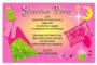 Sleepover Party Invitation Templates Free