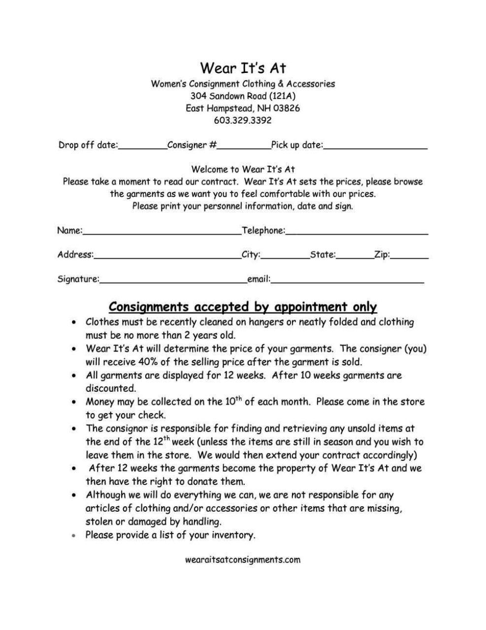 Sports Contract Template | SampleTemplatess
