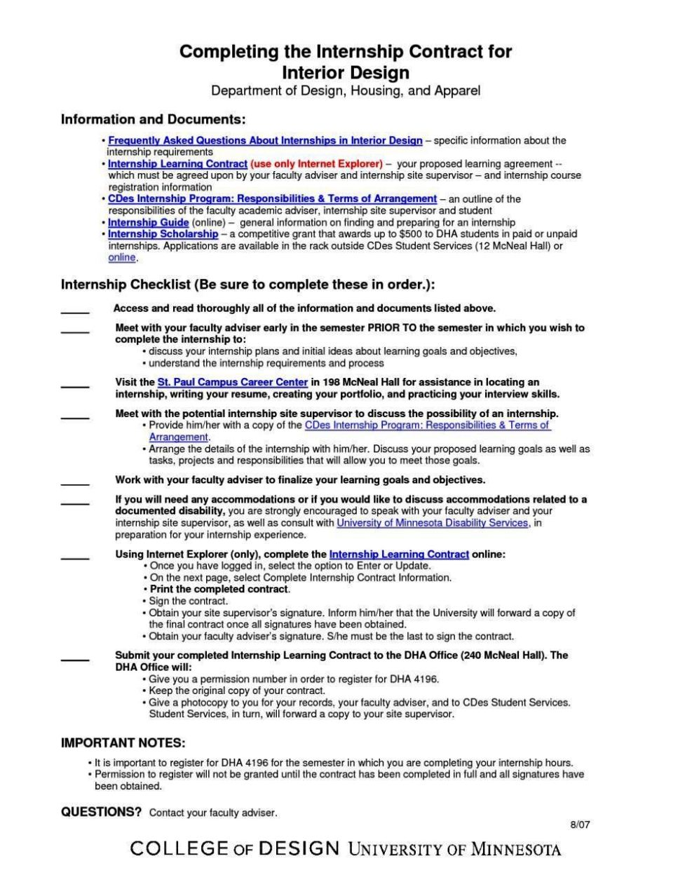 Student learning contract template sampletemplatess for Student contracts templates