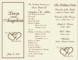 Wedding Order Of Service Template Free