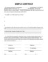 Writing A Contract Agreement Template