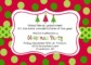 Xmas Party Invite Template Free
