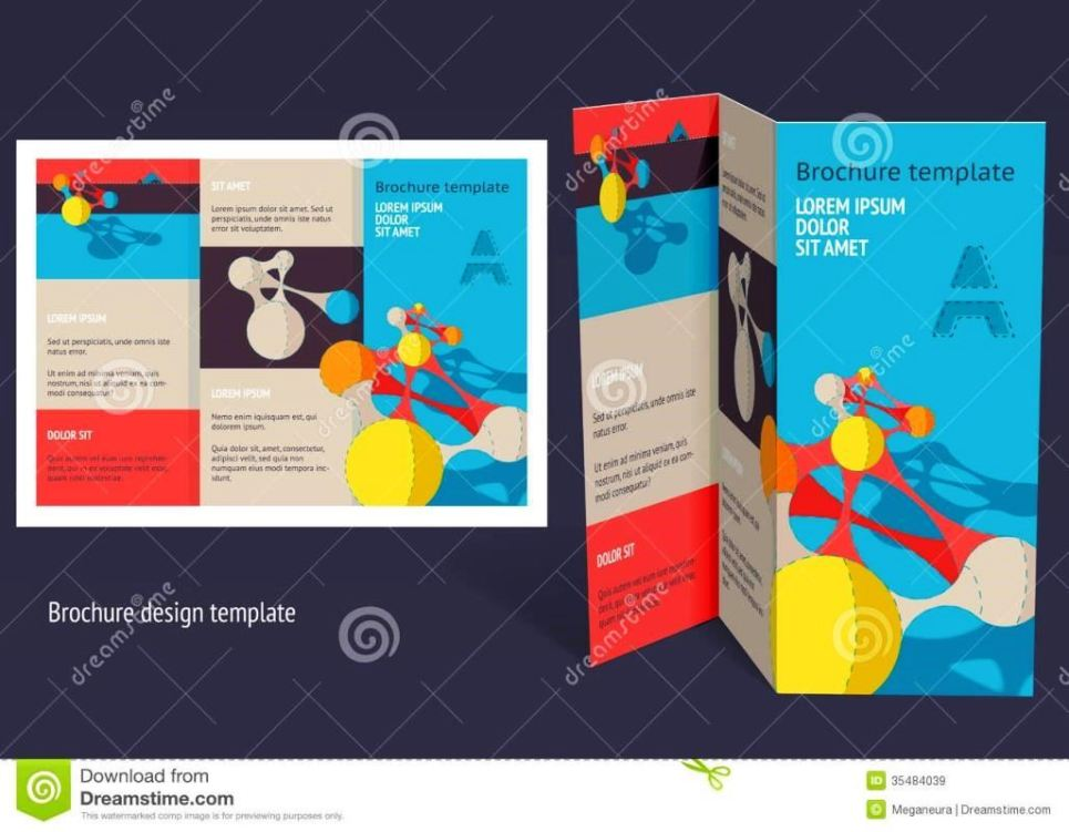 Z fold brochure template word sampletemplatess for Z fold brochure template word