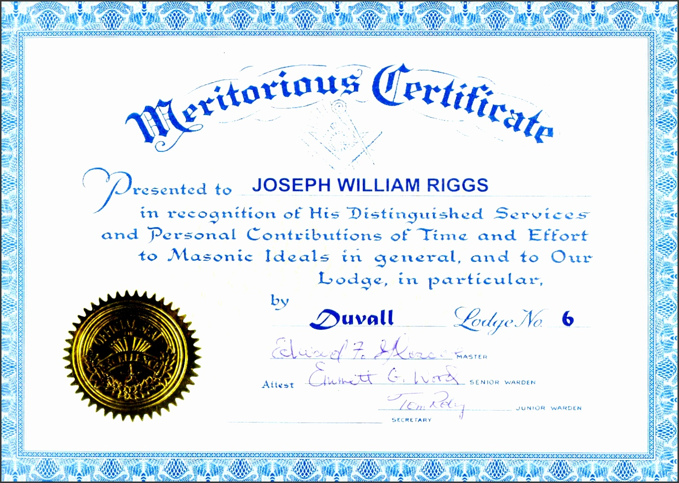 7 academic certificate of appreciation template sampletemplatess blue recognition awards certificate appreciation yelopaper Image collections