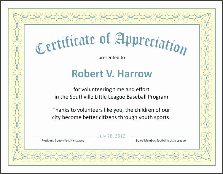 Delighted volunteer appreciation certificate template pictures nice volunteer certificate template ideas example resume ideas yelopaper Gallery