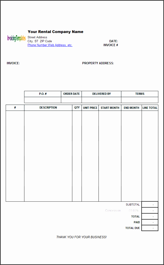 11 apartment rent receipt template