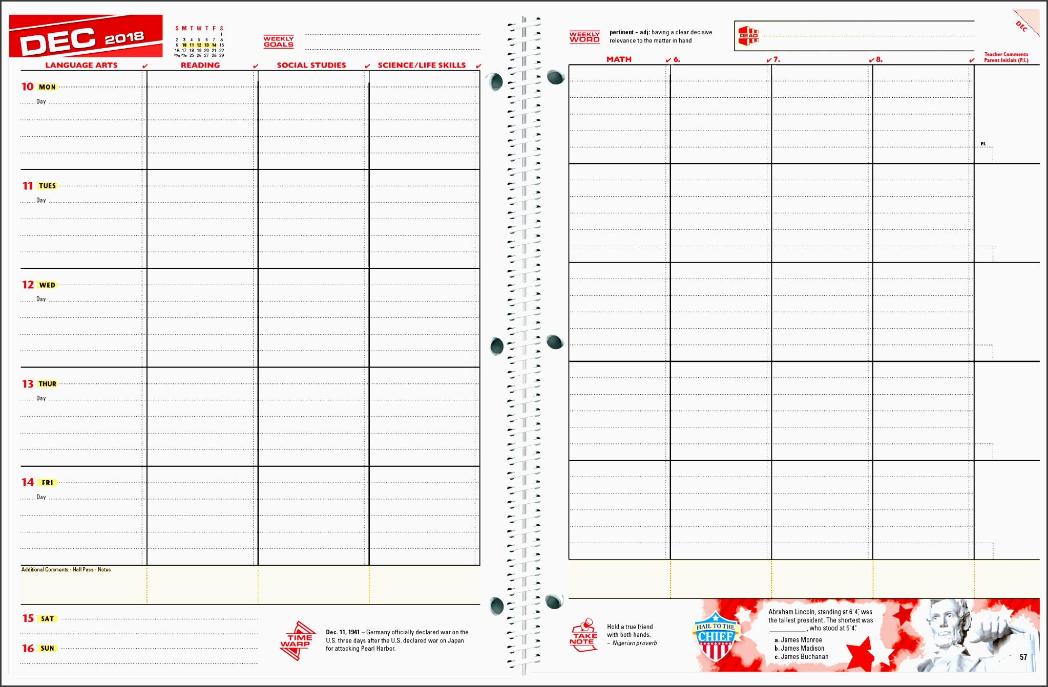 a student can use this schedule template to organize and keep track of homework assignments in various classes click new week and excel will