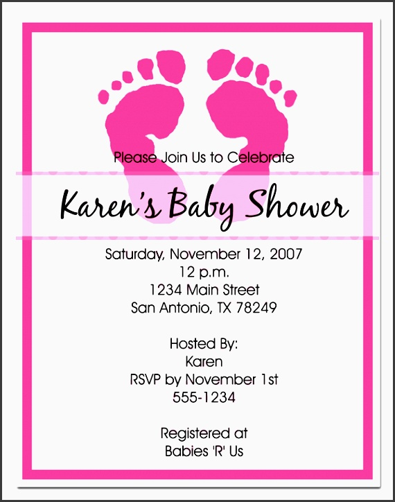 tips how to fill out a baby shower invitation designs with prepossessing layout
